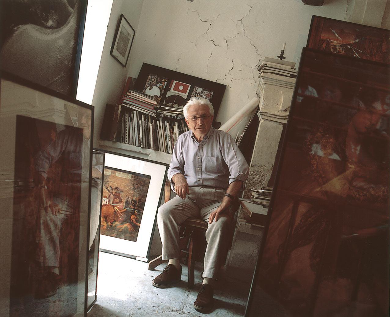 ©Gasarian : Lucien Clergue Arles 2000