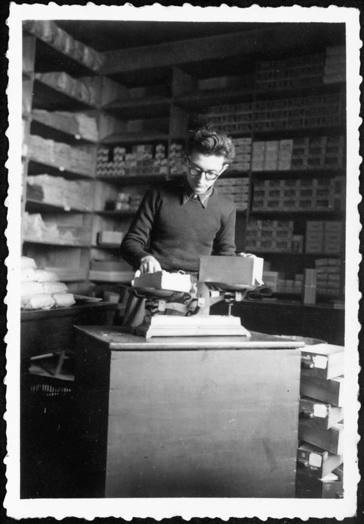 Premier boulot 1950