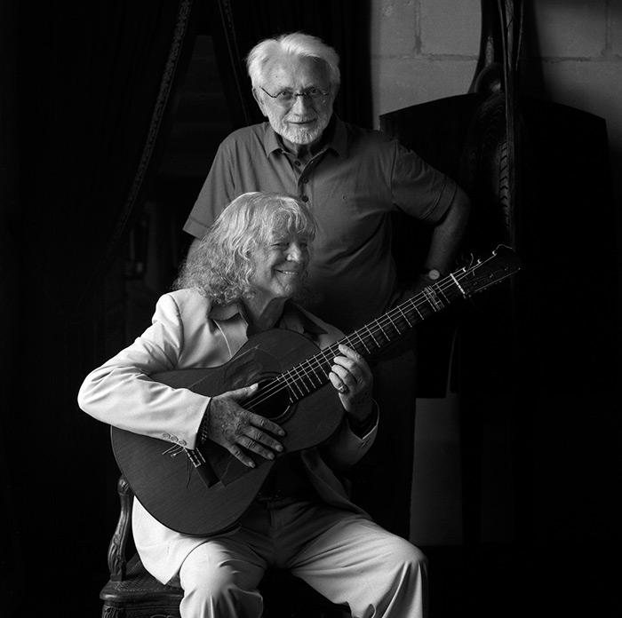 Lucien Clergue & Manitas de Plata, Arles 2007