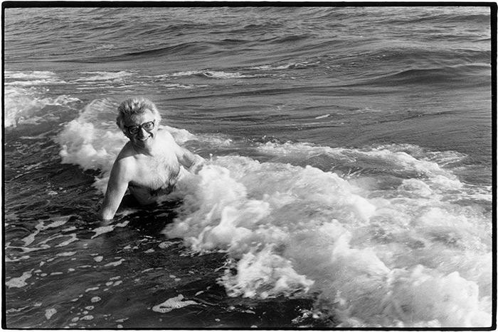 ©Jean Dieuzaide: Lucien Clergue, Camargue 1980