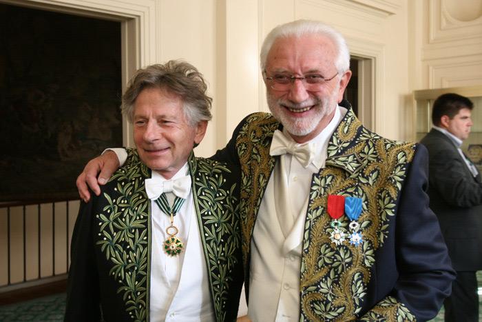 Lucien Clergue & Roman Polanski, Paris 2009