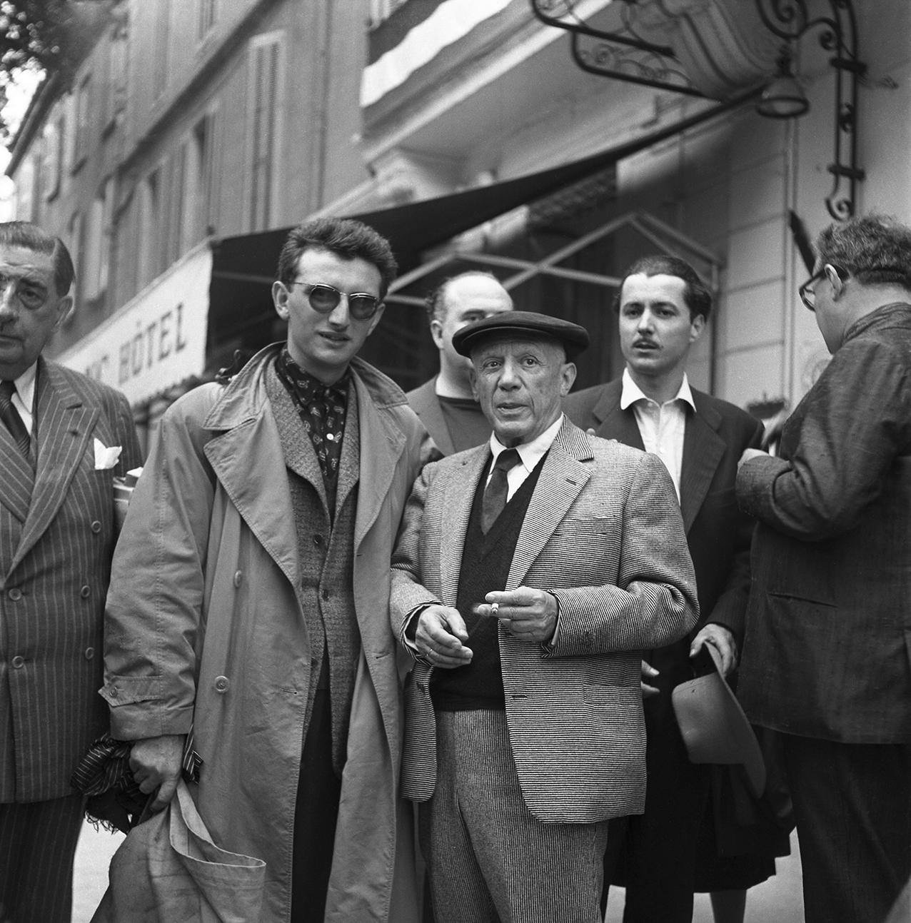 Clergue & Picasso Arles 1956
