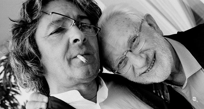 Clergue with Rudy Ricciotti, Menton 2011